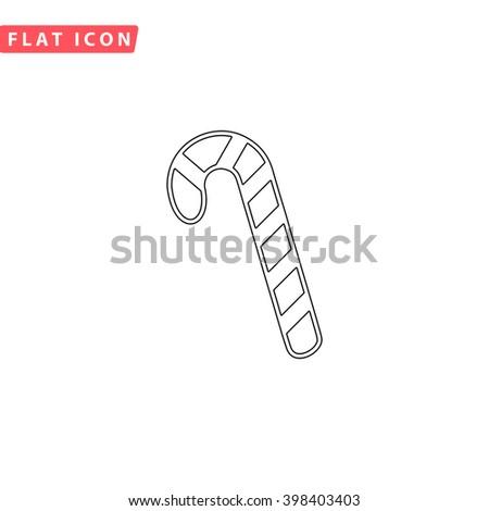 Candy cane Icon Vector. Candy cane Icon JPEG. Candy cane Icon Picture. Candy cane Icon Image. Candy cane Icon Art. Candy cane Icon JPG. Candy cane Icon EPS. Candy cane Icon AI. Candy cane Icon Drawing - stock vector