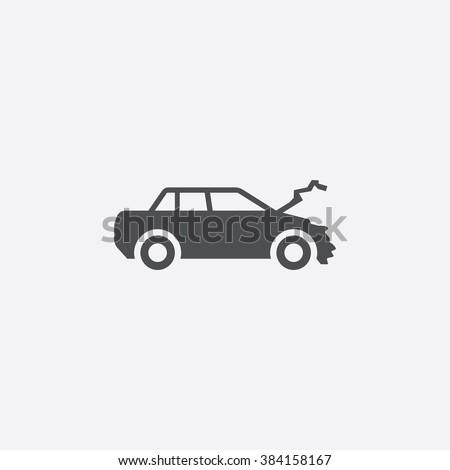 car crash Icon. car crash Icon Vector. car crash Icon Art. car crash Icon eps. car crash Icon Image. car crash Icon logo. car crash Icon Sign. car crash Icon Flat. car crash Icon web. crash icon app - stock vector