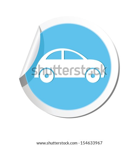 Car icon. Vector illustration - stock vector