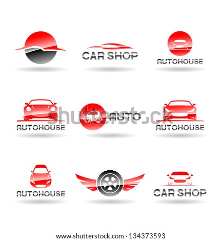 Car service and Repairing icon set. Vol 2. - stock vector