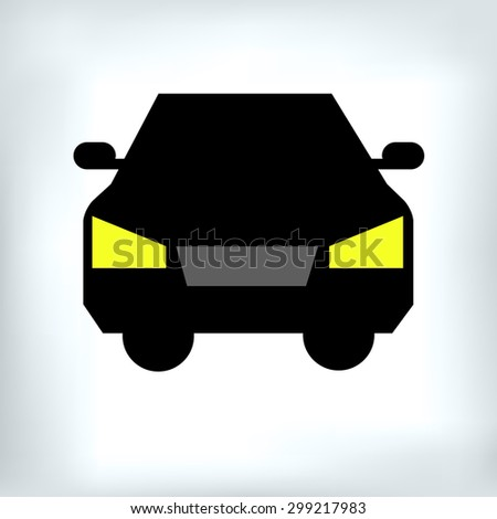 car vector auto automobile illustration transport vehicle - stock vector