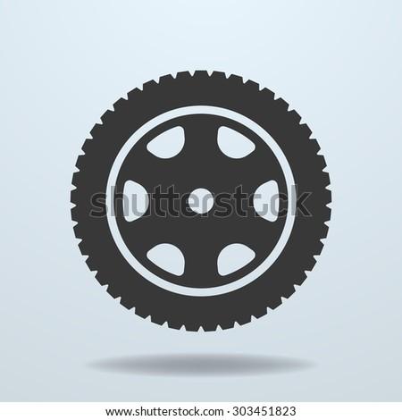 Car wheel icon. Car tire, rim. Car wheel symbol, Car wheel element, Car wheel sign, vector Car wheel, Car wheel picture, Car wheel illustration, isolated Car wheel, image Car wheel, silhouette wheel - stock vector
