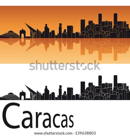 Caracas Venezuela Stock Vectors & Vector Art