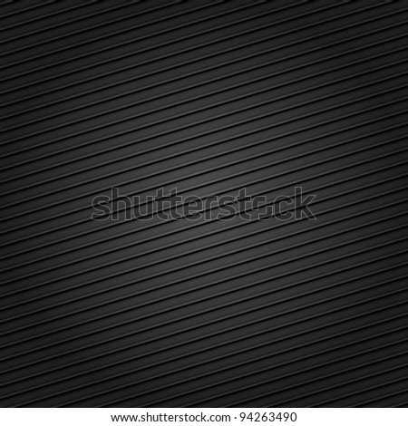 Carbon fiber background, fabric texture - stock vector