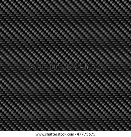 Carbon fiber texture - stock vector