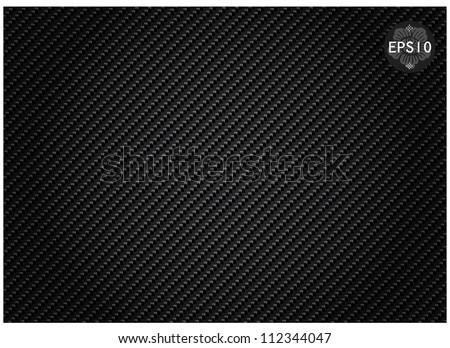 Carbon kevlar Texture - stock vector