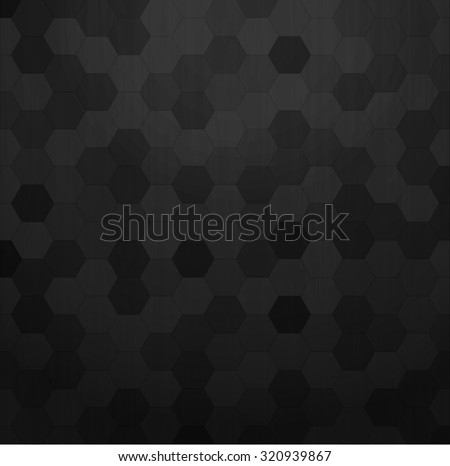Carbon metallic pattern background texture - stock vector