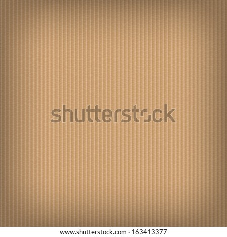 Cardboard background. Paper - stock vector
