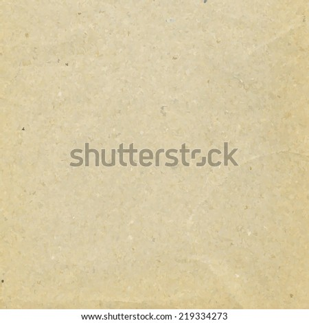 Cardboard Paper, Vector Illustration - stock vector