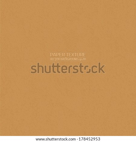Cardboard paper vector texture. Seamless pattern. Paper background. Brown background. Business background. Retro background. Vintage background - stock vector