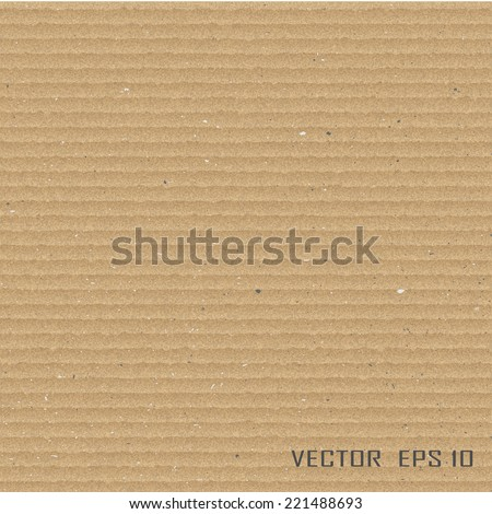 Cardboard texture.Vector illustration.  - stock vector