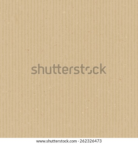 Cardboard texture. Vector seamless pattern. Realistic endless background - stock vector