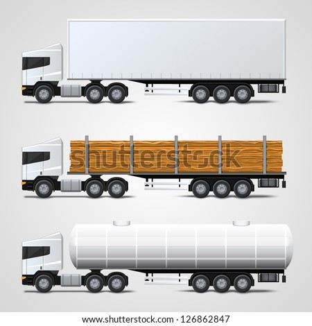 cargo traffic - stock vector