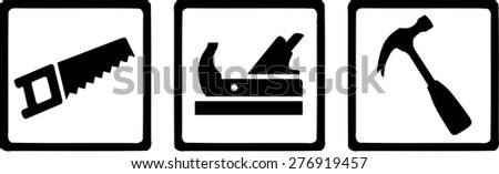 Carpenter Tools - stock vector