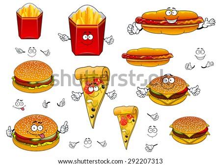 Fast Food Cartoons Cartoon Cute Fast Food