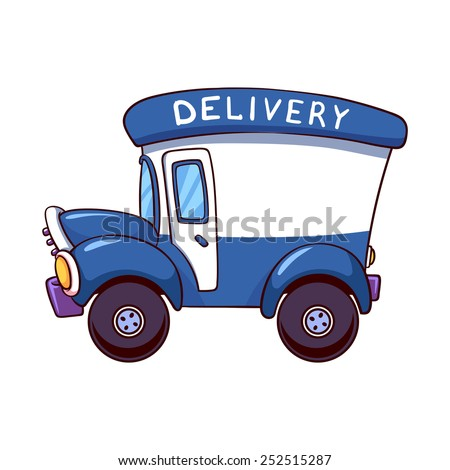 delivery driver clip art - photo #3