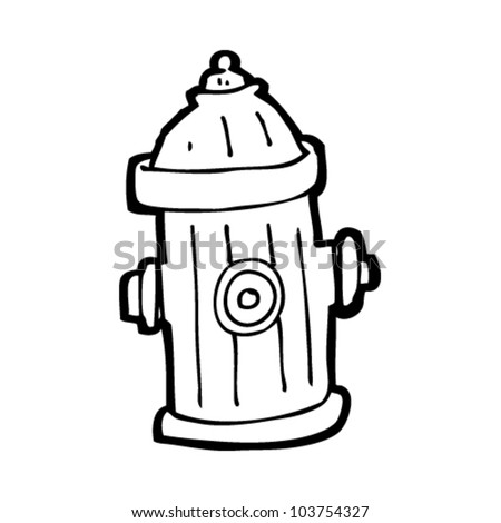 Stock images similar to id 112222889 cartoon fire hydrant for Fire hydrant coloring page