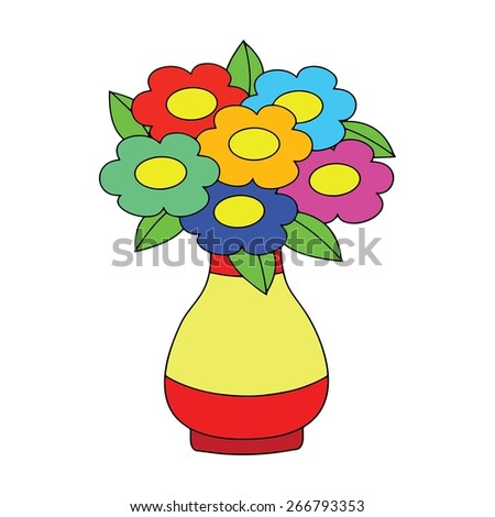 Cartoon Vase Pictures To Pin On Pinterest Pinsdaddy