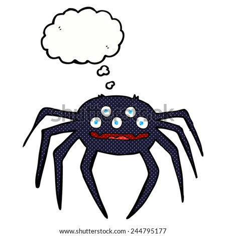 Cartoon Character Happy Spider Stock Photos, Images ...