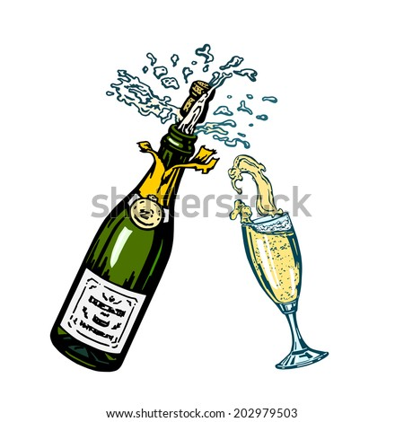 champagne cartoon pictures to pin on pinterest pinsdaddy