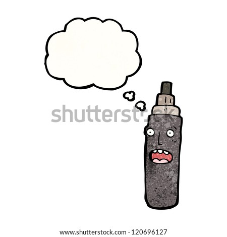 cartoon marker pen - stock vector