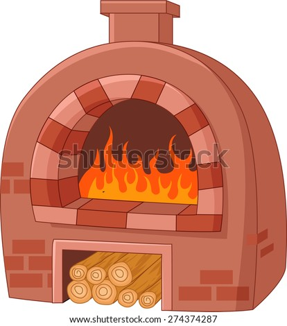 Oven Cartoon Pictures Cartoon Traditional Oven