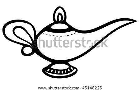Magic lamp Illustrations and Clip Art 4452 Magic lamp