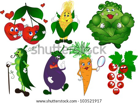 Vegetable garden art art of french vegetable - Vegetable Cartoon Stock Photos Images Amp Pictures