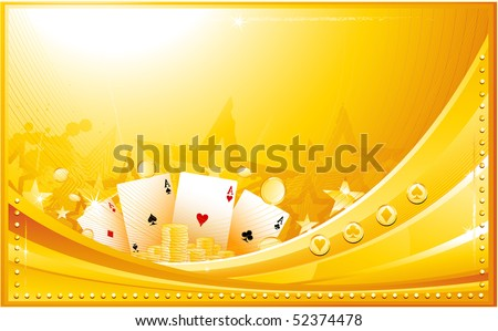 Casino background - stock vector