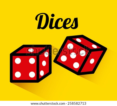 casino game design, vector illustration eps10 graphic  - stock vector