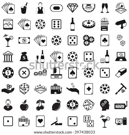 Casino Set Icon, Casino Set Icon Eps10, Casino Set Icon Vector, Casino Set Icon Eps, Casino Set Icon Jpg, Casino Set Icon Picture, Casino Set Icon Flat, Casino Set Icon App - stock vector