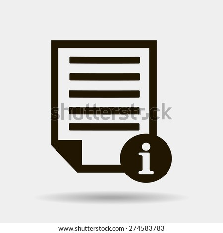 catalog vector icon - stock vector