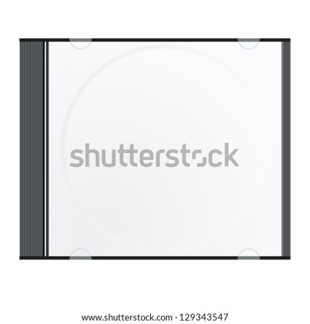 cd case - vector illustration - stock vector