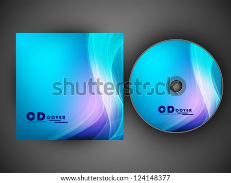 CD Cover design for your business. EPS 10. - stock vector