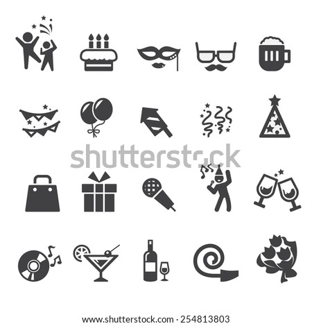 celebration icon - stock vector