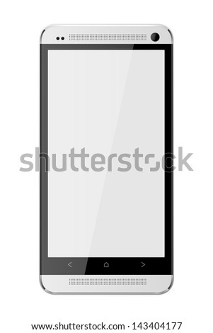 Cell Phone Aluminum - stock vector