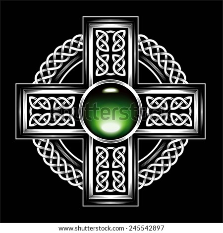Celtic cross - stock vector