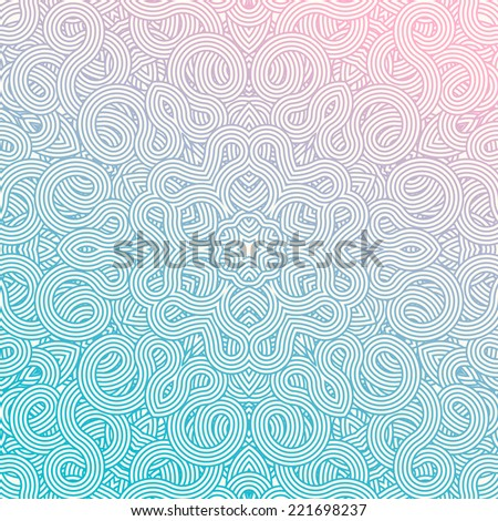 celtic knot doily round lace floral pattern card, circle, mandala, amulet ,  - stock vector