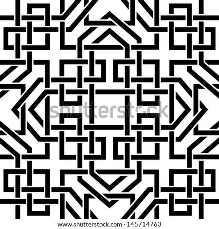 Celtic seamless pattern - stock vector
