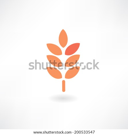 cereal icon - stock vector