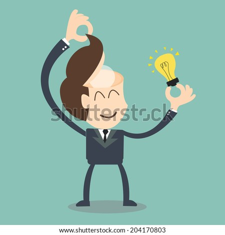 change your mindset - stock vector