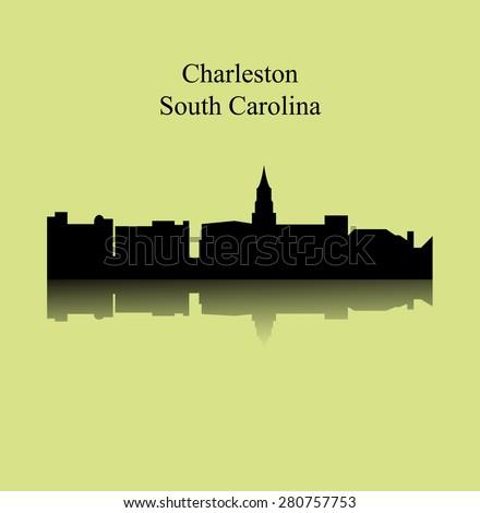 Charleston, South Carolina - stock vector