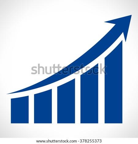 chart or diagram - stock vector