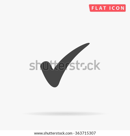 Check Icon Vector.  - stock vector