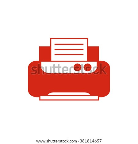 Check list note pad. Vector icon red  - stock vector