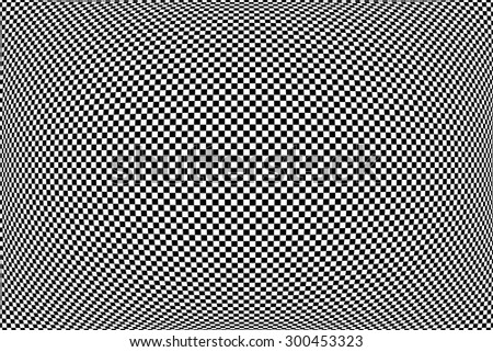 Checked geometric pattern. Abstract textured background. Vector art. - stock vector