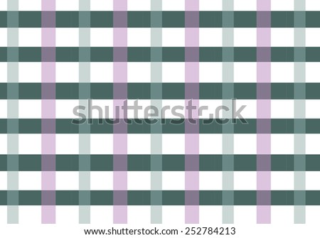 checkered seamless vector pattern. Can be used for textiles, accessories; decorative paper, stationery,  wrapping etc. Swatch for seamless pattern included. - stock vector