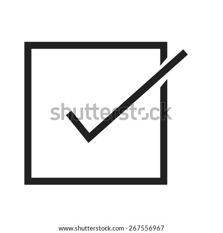 Checklist, tickmark, document icon vector image. Can also be used for ecommerce, shopping, business. Suitable for web apps, mobile apps and print media. - stock vector