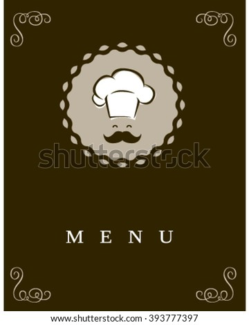Chef icon in a modern style. - stock vector