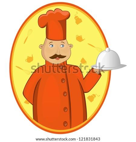 Chef (vector version) - stock vector